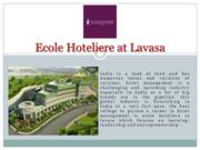 Best Hotel Management Colleges in India | Ecole Hoteliere at Lavasa