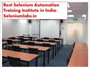 Best Corporate Training in Bangalore for IT Student-Seleniumlabs