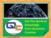 Role of quantum creation in the physics