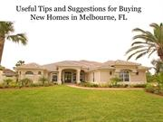 Useful Tips and Suggestions for Buying New Homes in Melbourne