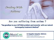 Say Goodbye to your Asthma problem with This Natural homeopathy treatm