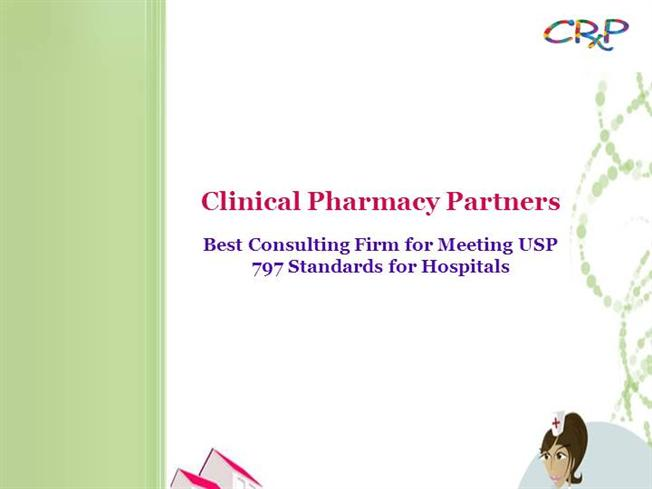 Best Consulting Firm For USP 797 Standards Hospitals