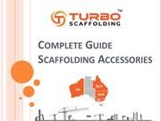 Scaffolding Accessories & Components Guide