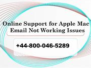 How to fix Email Not Working Issue on Apple Mac +44-800-046-5289