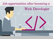 Web Developer – Career and Salary Information