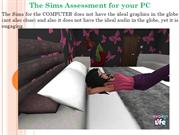 The Sims Assessment for your PC
