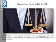 Divorce Law Firms in Fairfax, VA