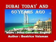 Dubai  today  and 60 years ago