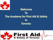 Join First Aid CPR Training Courses In Toronto at Reasonable Prices