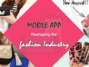 Mobile App For Fashion Industry