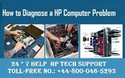 How to Diagnose a Computer Problem? | HP Technical   Support Number