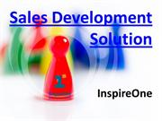Sales Development Solutions - Sales Training - InspireOne
