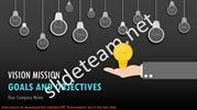 Vision Mission Goals And Objectives PowerPoint Presentation Templates