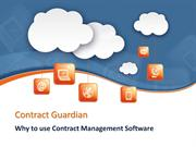 Why to use Contract Management Software