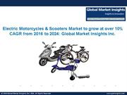 PPT - Electric Motorcycles & Scooters Market