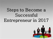 Sam Solakyan - Steps to Become a Successful Entrepreneur in 2017