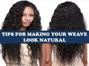 How to Make Your Weave Look Flawless