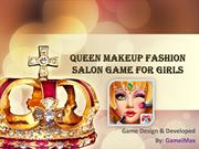 Queen Makeup Fashion Salon Game For Girls
