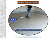 Urethane Concrete Floor Coating