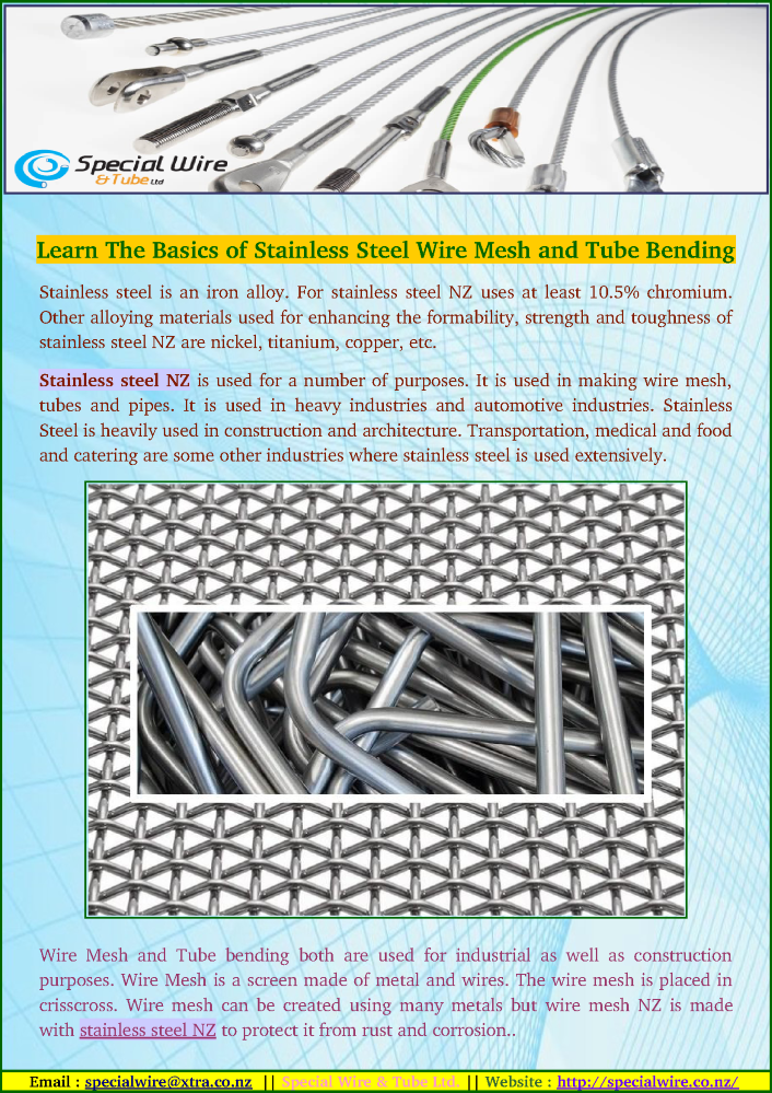 Learn the Basics of Stainless Steel Wire Mesh And Tube