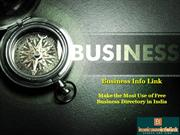 Business Info Link - Make the Most Use of Free Business Directory in I