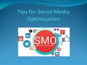 Tips of Social Media Optimization - Mario Prisciandaro