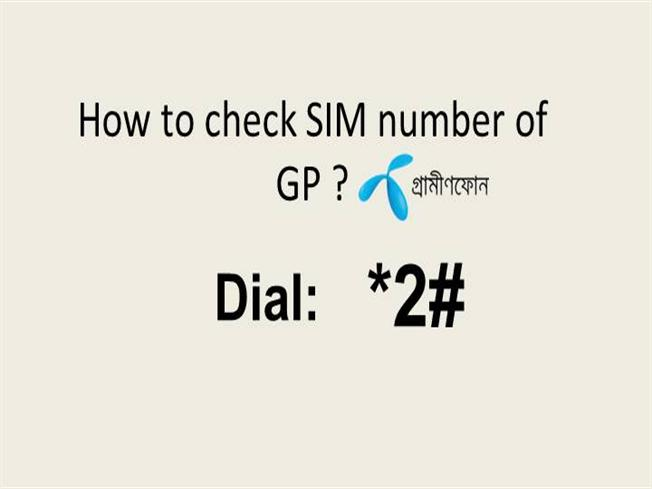 How to Check SIM Number in GP |authorSTREAM