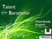 Report Talent Barometer_Dec.'09