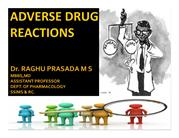 CLASS ADVERSE DRUG REACTION