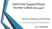 Dell Printer Support Phone Number 1 (800) 204-4427 DELL US Helpline