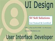 Live UI Developer Training in USA, UK, Canada and India Soft Solutions