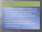 How to log into the Suddenlink Webmail, Call @ 1-855-662-4436