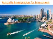 Investment Migration to Australia From India