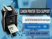 Make your printer jam free call Canon Printer Tech Support  Number