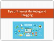 Tips of Internet Marketing and Blogging - Eugenia Cason NJ