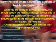 How the Real Estate Lawyer prepares your Real