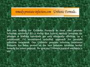 Prostate infection herbal remedy