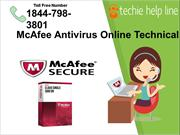 McAfee Antivirus Online Technical Support Provided by Techiehelpline