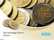 Bank Mortgage Rate-Canada