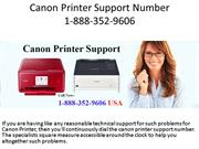 Canon Printer Support Number +1-888-352-9606