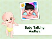 Baby Talking Aadhya - Free Talking Game