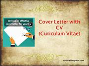 Cover Letter with cv