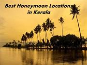 Romantic Honeymoon Locations in Kerala