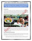 SOL Admit Card 2017 Download SOL DU (BA, B