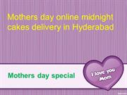 Order MothersDay Cakes Online| Send Midnight MothersDay Gifts delivery