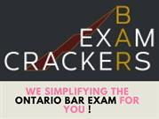 Ontario Bar Exam Tutors, Practice Questions & Summaries