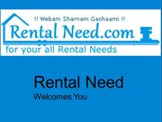 Rental services in india