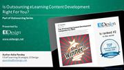 Is Outsourcing eLearning Content Development Right For You - EI Design