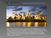 Importance  Of  Import And Export India For Business