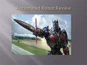 Automated robot review ppt